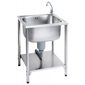 MEX SINK BIG BOWL MOD.PS706L (Stainless steel)